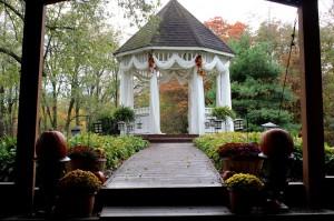 Fall Garden Gazebo