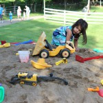 Playing on Sand Mountain
