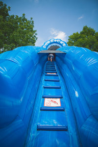 Mega water slide!