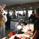 The Easter Bunny even fancied our Buffet!