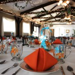 Wedding Tables in the Lakeside Dining Hall