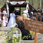 Wedding Ceremony at the Chapel