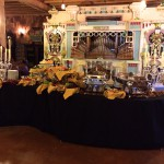 Buffet set-up for the Heritage Society