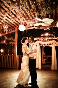 First Dance on the Deck