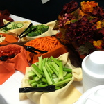 Mixed veggies on a shift lunch buffet.