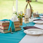 Wedding in the Park: Centerpieces