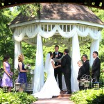 Ceremony at Cheers Gazebo