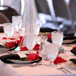Rose Table Setting