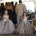 Two Adorable Flower Girls