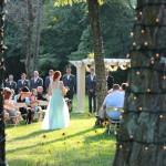 Bridemaid in the Garden