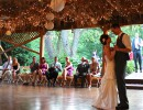 First Dance on the Lakeside Deck