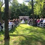 Garden Arbor Ceremony