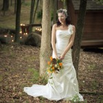 Bride Amongst the Trees