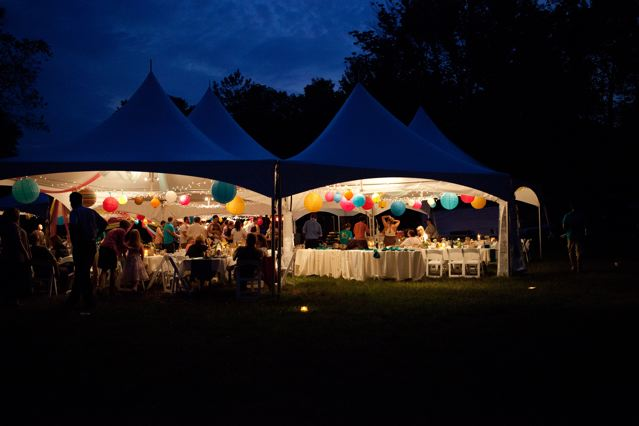 Outdoor summer event, off-site at Rockmill Brewery