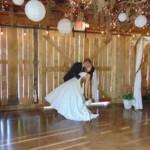 Barn door dance